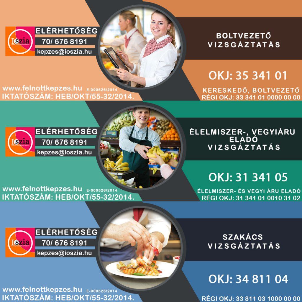 élelmiszer-vegyiáru-eladó-boltvezető-szakács